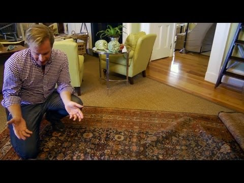 How to Repair an Oriental Rug | At Home With P. Allen Smith