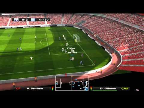 PES6 Tottenham Hotspur FC - Everton FC 1:3