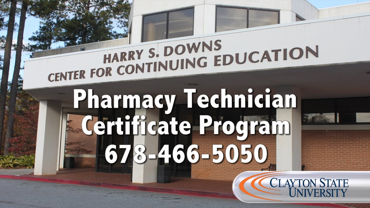 Clayton state university continuing education pharmacy technician clayton state university continuing education pharmacy technician certificate program welcome 1betcityfo Gallery