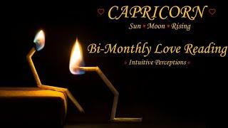 CAPRICORN   OCT 21-NOV 03 2018 LOVE TAROT READING