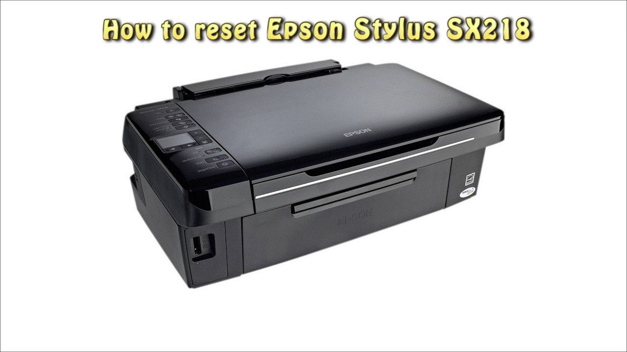 driver epson sx218 windows 7