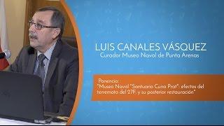 VI Encuentro Binacional de Museos 2016 - Expositor Luis Canales Vásquez