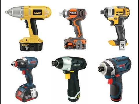 Reviews Best Cordless Impact Drivers 2018