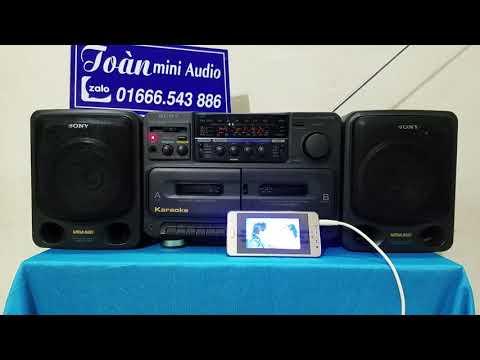 Đài cassette SONY CFS - 75s mới về - Loa toàn dải cực hay : 01666.543.886