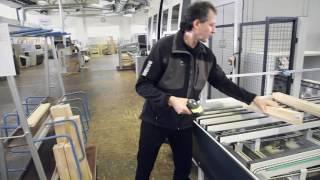 WEINIG - процесс изготовления деревянных окон