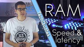 الفرق بين انواع الرامات و كيفية اختيار الرامات ! - !RAM Speed and Latency
