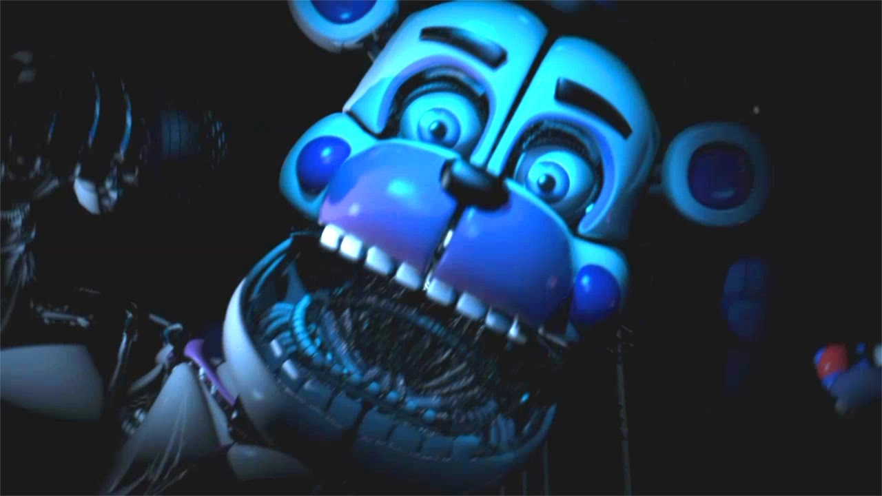 Fnaf Sister Location Funtime Freddy Jumpscare Youtube