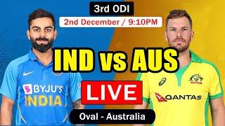 IND vs AUS 3rd ODI LIVE from Oval | India vs Australia Live Cricket Scorecard | TAMIL Commentary