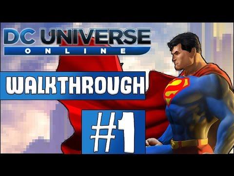 DC Universe Online Walkthrough 2017 - Episode 1 - Valentine