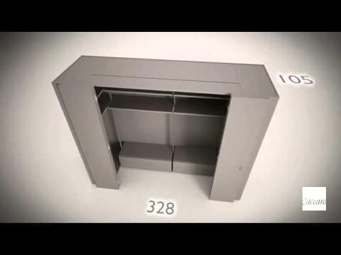 ... Moderni Caccaro Arredamento Camera da Letto Letti Moderni - YouTube