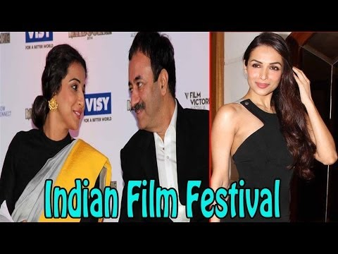 Vidya Balan Spotted @ Indian Film Festival 2014