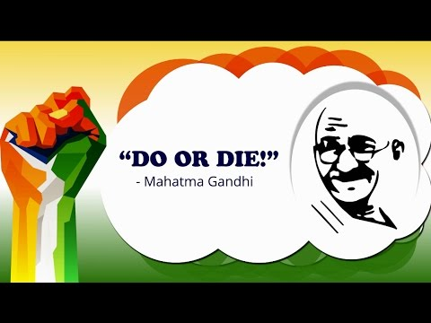 The 10 Most Powerful Slogans of Indian Independence Movement.