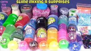 Slime Smoothie MIXING Store Bought and Blind BAGS OPENING TOY SURPRISES KIDS FUN PLAY