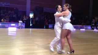 Camp.Assoluti Master 2014 Luca e Sara Folk Show Dance 26012014 Rimini