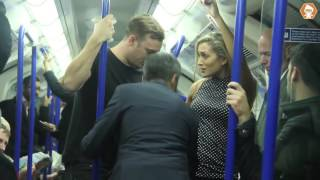 Groping On Train Social Experiment