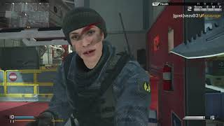 Call of Duty ghost jeu d'arme!!