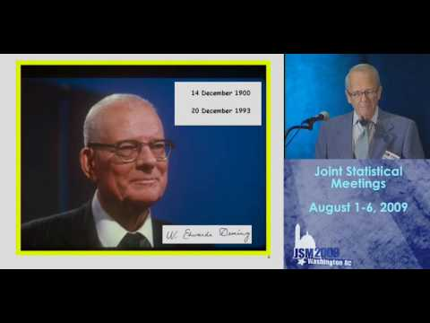 J. Stuart Hunter - 2009 Deming Lecture