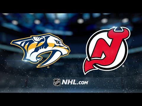 Rinne, Predators blank Devils in 3-0 victory