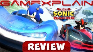 Team Sonic Racing - REVIEW (PS4) (Video Game Video Review)