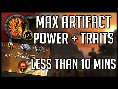 How To Get MAX ARTIFACT POWER In Less Than 10 Minutes | World of Warcraft Legion