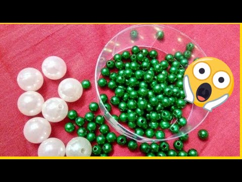 How to make Pearl Beaded Choker Necklace || Diy || jewellery making at home || Diyartiepie