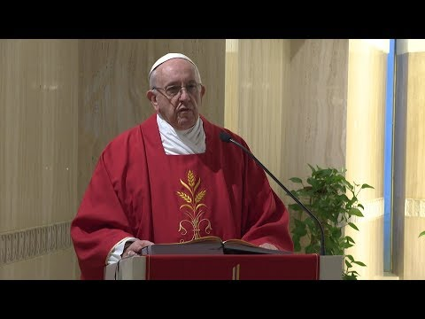 Pope in Santa Marta: The devil persecutes human beings to destroy them