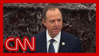 Adam Schiff lays out case against Trump at impeachment trial