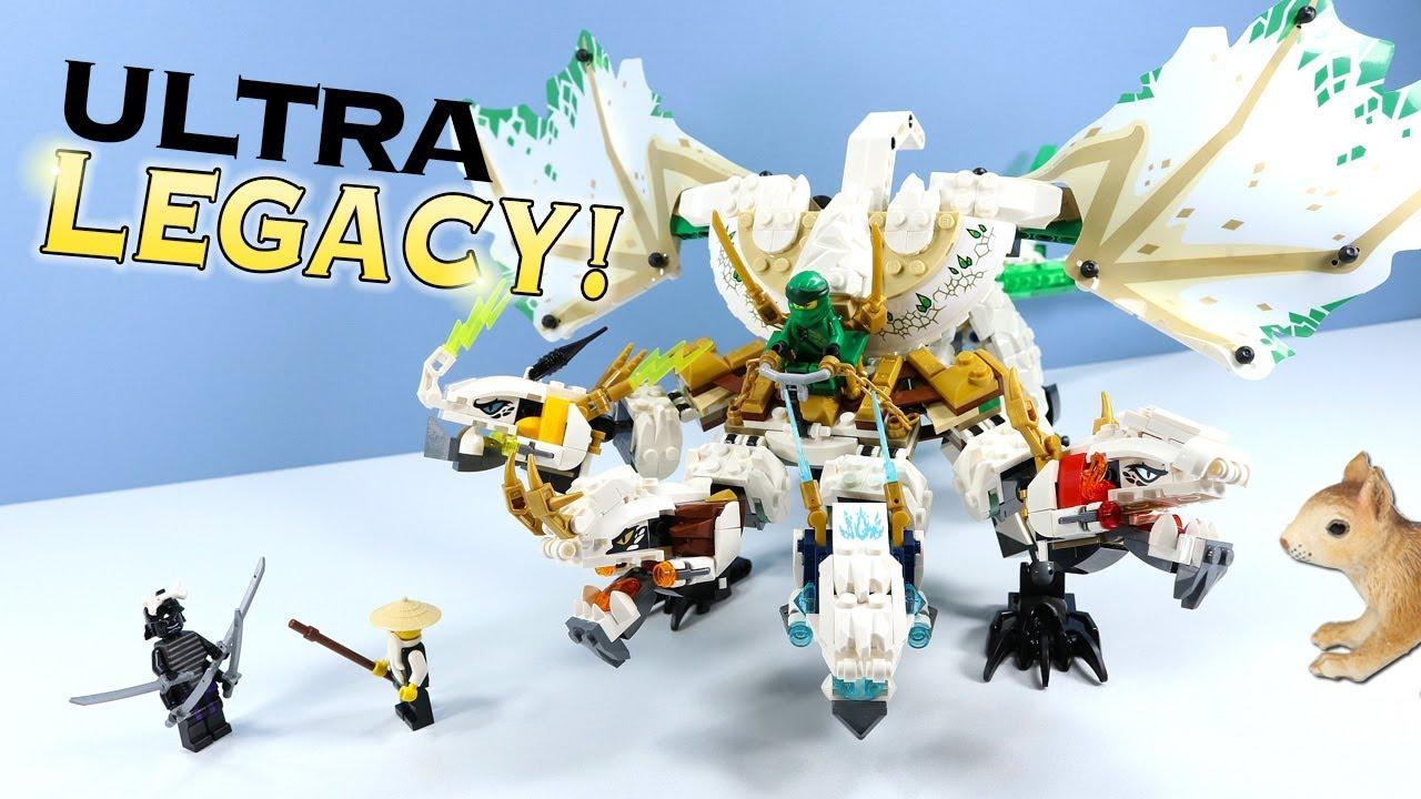 Lego Ninjago Legacy The Ultra Dragon Set Build Review 70679 Youtube