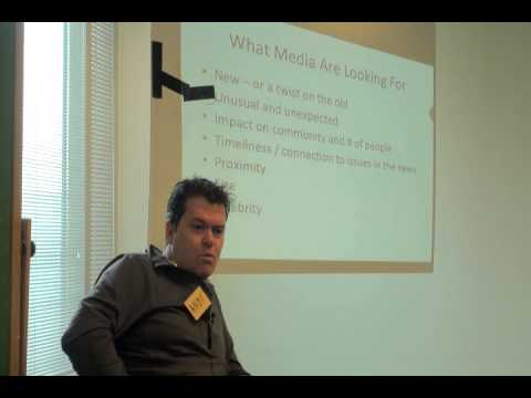 SELP MEDIA TRAINING Part 1 : Andy Walker