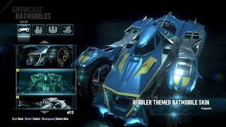 """Batman: Arkham Knight"" Full Showcase of All Batmobiles, Characters and Vehicles"