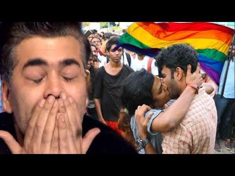 Karan Johar EMOTIONAL Reaction On Section 377 (Gay) Verdict Today