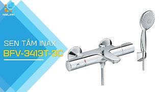 Review sen tắm trộn tự động Inax BFV-3413T-3C (nước ấm không đổi trong suốt quá trình tắm)