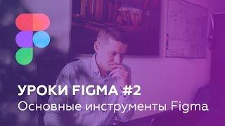Уроки Figma #2: Основные инструменты Figma