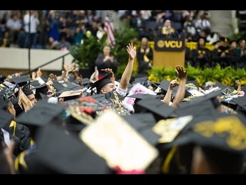 VCU May 2017 Commencement - Highlights