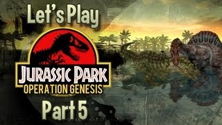 Jurassic Park : Operation Genesis | #5 | Woman Inherits The Earth.