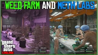 GTA 5 Online: *NEW* WEED FARM, CRACK HOUSE, METH LAB, AND MORE!| (ALL 5 Biker DLC Locations!)