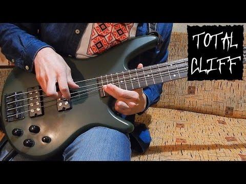 Metallica Orion bass cover + solo Cliff Burton tribute (free bass tab on AndriyVasylenko.com)