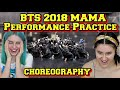 CHOREOGRAPHY BTS 방탄소년단 2018 MAMA Performance Practice Formation Check ver. REACTION
