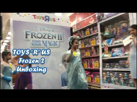 Carissa - TOYS R US - Frozen 2 Unboxing