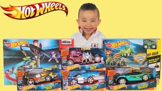 New Hot Wheels Lights And Sounds Toys Opening Drop Force Dragon Blast Challenge Playset Ckn Toys