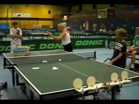 TOPSPIN Tischtennistraining mit POWER und FUN