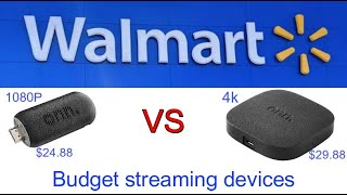 Walmart's budget Android TV streaming devices compared
