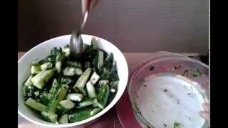 Рецепт острых ОГУРЧИКОВ по-корейски для похудения.
