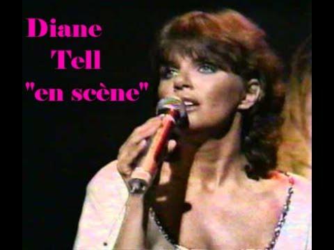 """Diane Tell   """"en scène"""" (1ière Partie)"""