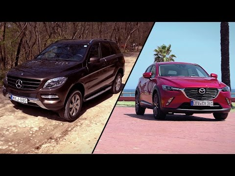 Garázs ep. 493 (2015.06.13) -  Mazda CX-3 / Mercedes-Benz ML 320