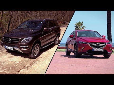 Garázs ep. 493 (2015.06.13) -  Mazda CX-3 / Mercedes-Benz ML 320