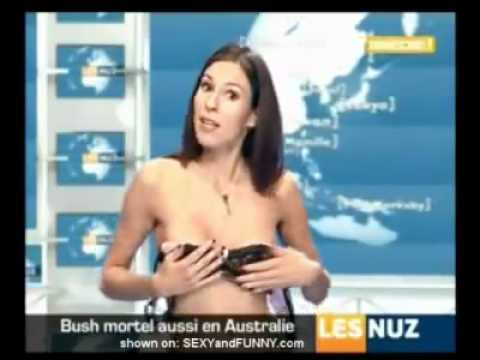 Not the Video news anchor shower naked opinion already