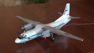 видео: Модель самолёта Ан 26 RF-26271