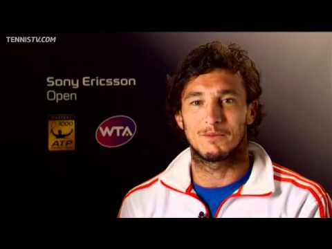 Juan Monaco Interview At Sony Ericsson Open 2012