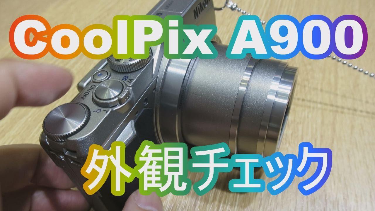 coolpix a900 ファームウェア